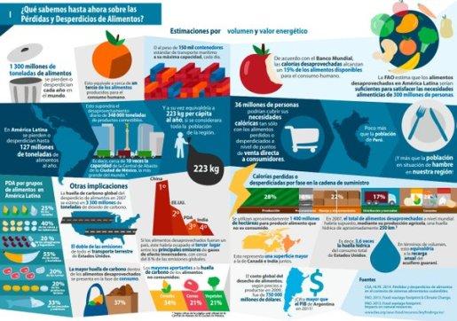 Infografia PDA. FAO 2016